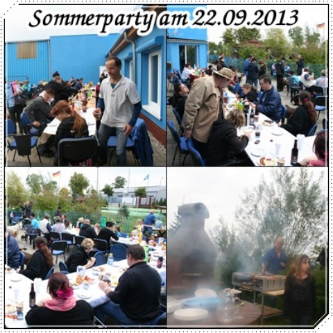 sommerparty banner